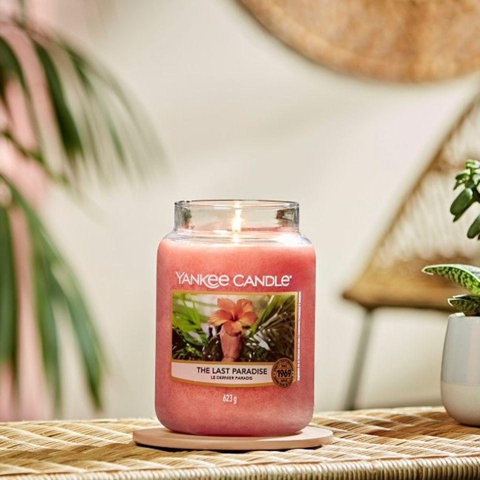Gewinnspiel: Gewinne eine Kerze der The Last Paradise Collection von Yankee Candle