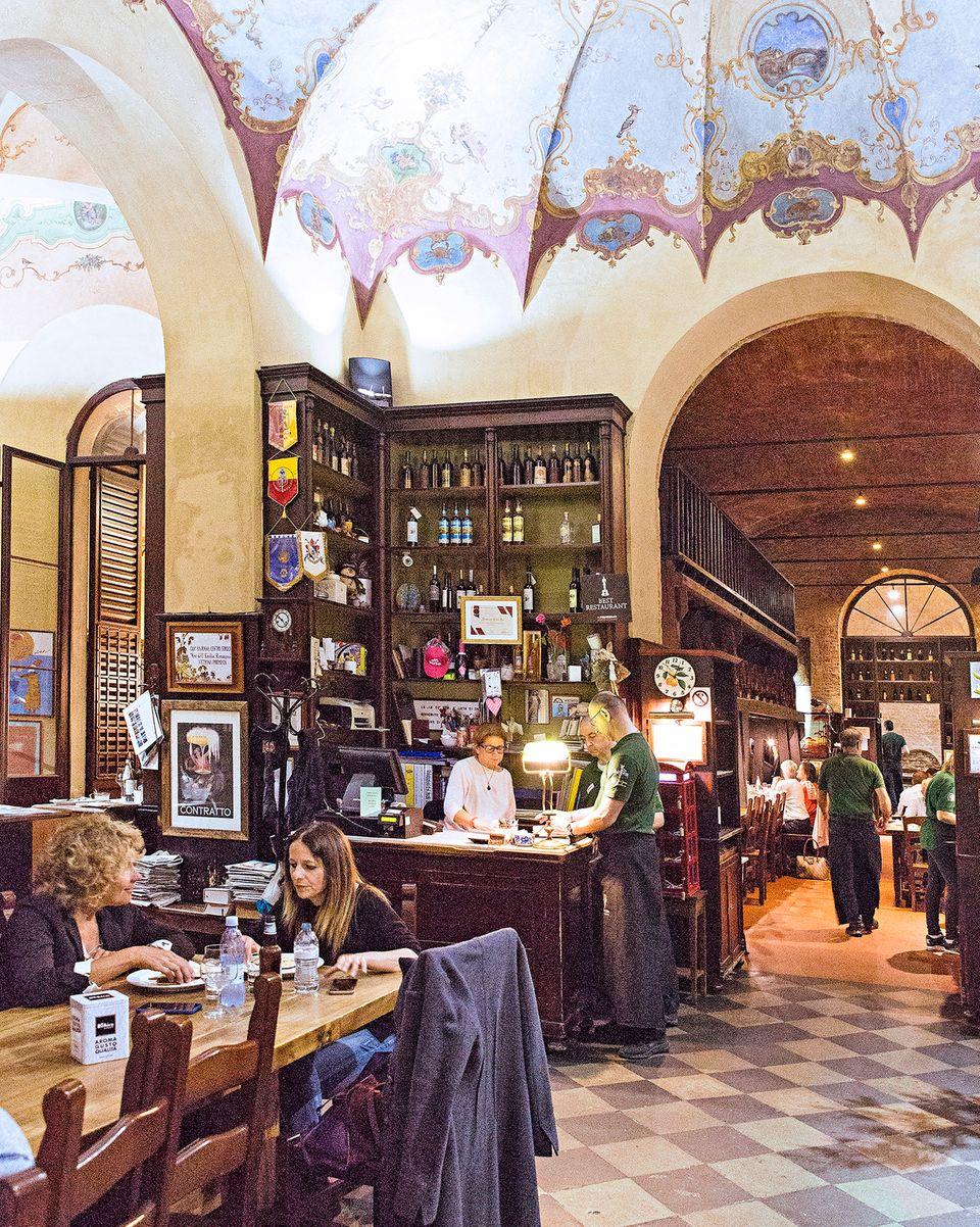 Von Venedig bis Florenz: Rustikales Restaurant