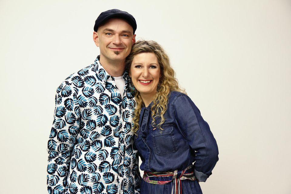 Simone Sommerland und Karsten Glück sind beruflich und privat ein Dream Team mit drei gemeinsamen Kindern und einer steilen Karriere.