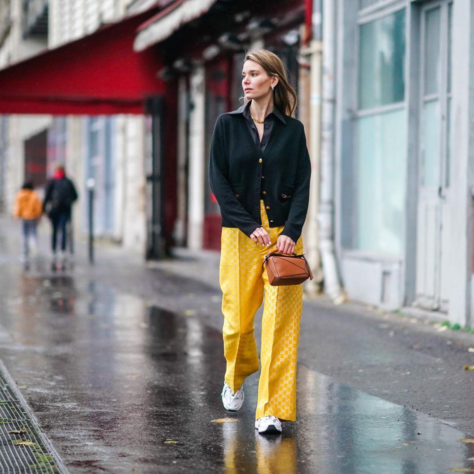 Farbige Hosen? Trend-Piece oder Fashion-Fauxpas?