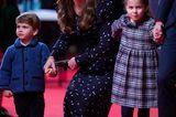 Royale Mütter: Herzogin Kate mit ihren zwei Kindern