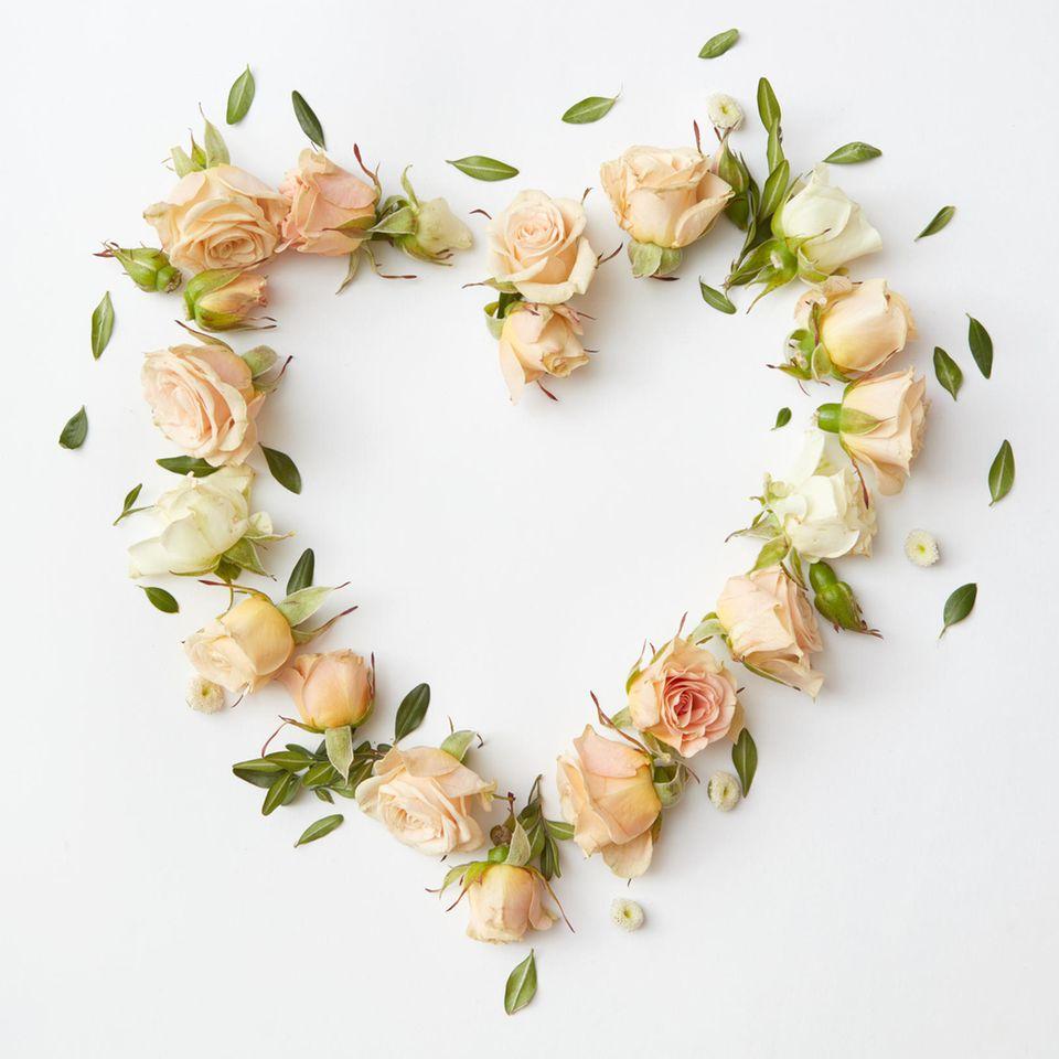 Petition zum Muttertag: Blumenherz