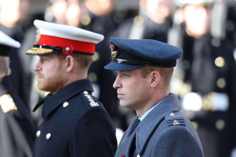 Prinz Harry + Prinz William: Getrennte Reden bei der Enthüllung von Dianas Denkmal: Harry und William stehen nebeneinander