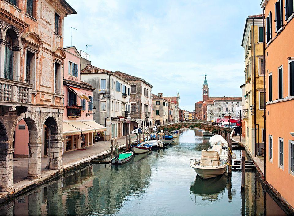 Von Venedig bis Florenz: Stadt Chioggia