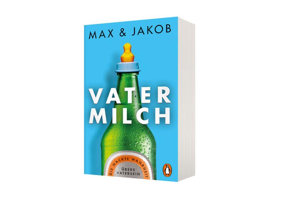 """Feinste VatertagslektüreWie wird man ein guter Vater? Und wie behält man die Nerven? Die beiden erfolgreichen Podcaster liefern mit ihrem neuen Buch die nackte und sehr lustige Wahrheit übers Vatersein. """"Vatermilch"""" von Max und Jakob (erschienen bei Penguin Randomhouse), ca. 10 Euro"""