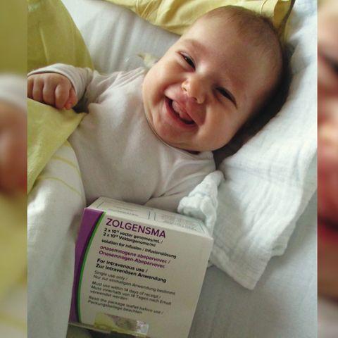 Baby wird durch 2-Millionen-Spritze gerettet