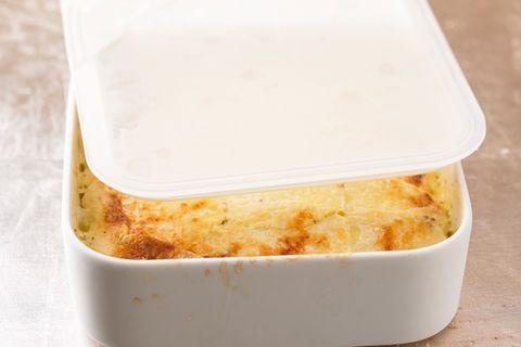 Kartoffelgratin zum Vorbereiten