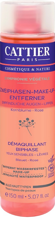 Green Beauty: Zweiphasen-Make-up-Entferner Symphonie Végétale Kornblume & Rose