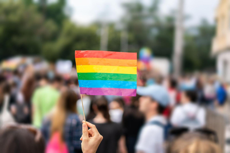 LGBTQ+: Regenbogenflagge