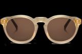 """Ihr Lieblingsmodell ist die """"Jordaan""""-Brille, die noch dazu ziemlich erschwinglich ist.Von Mr. Boho, kostet ca. 70 Euro."""