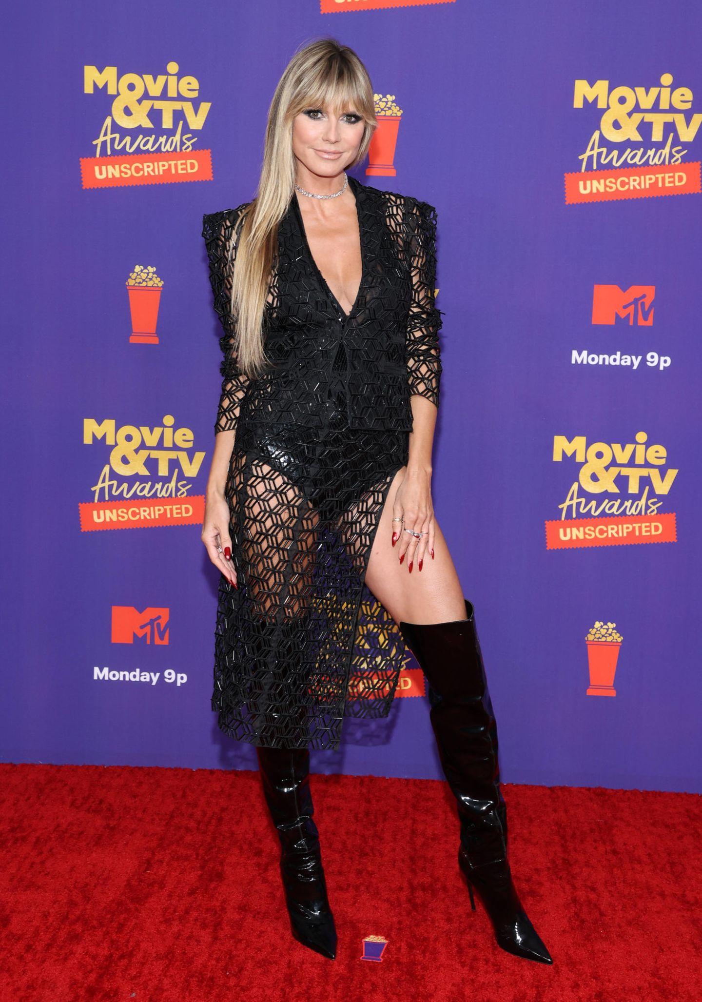 Heidii Klum bei den MTV Movie & TV Awards: UNSCRIPTED