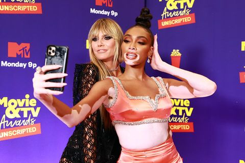Heidi Klum und Winnie Harlow bei den MTV Movie & TV Awards: UNSCRIPTED