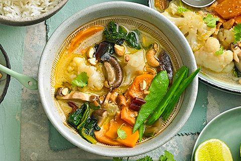 Vegane Tom Kha Gai