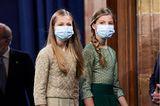 Leonor und Sofía besuchen die Princesa de Asturias Awards