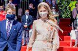 Prinzessin Elisabeth beim Nationalfeiertag in Belgien
