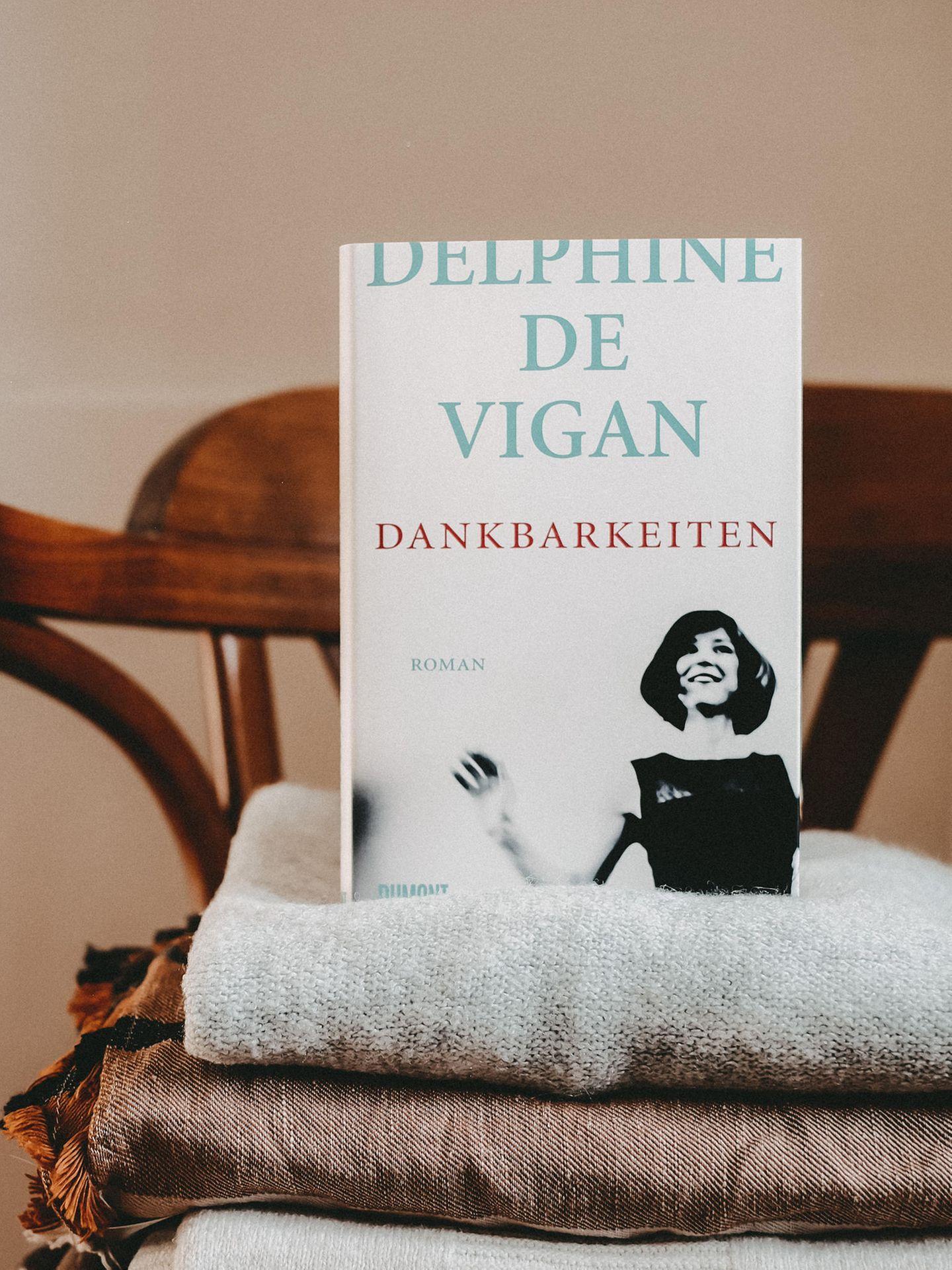 Buchtipps der Blogger: Dankbarkeiten – Delphine de Vigan