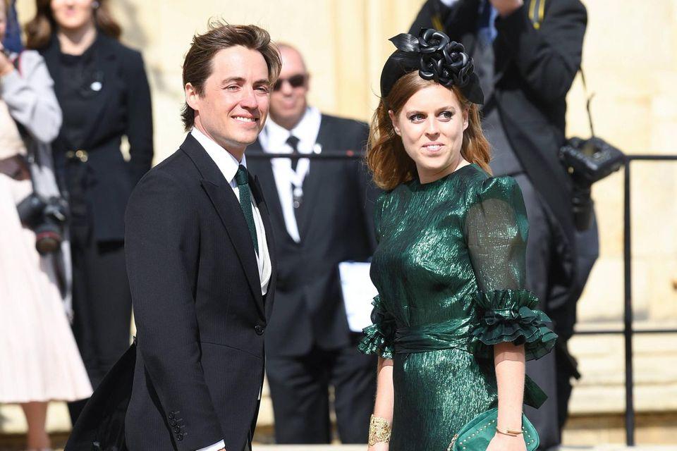 Prinzessin Beatrice ist schwanger: Prinzessin Beatrice neben ihrem Ehemann