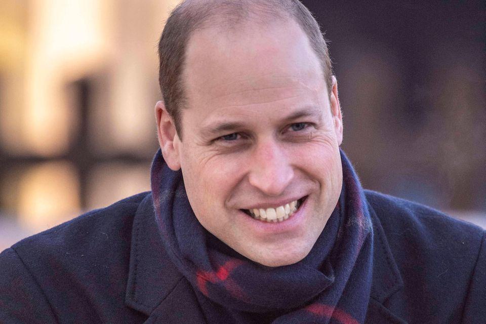 Prinz William: Er holt Luisa Neubauer in sein Team: Prinz William lacht