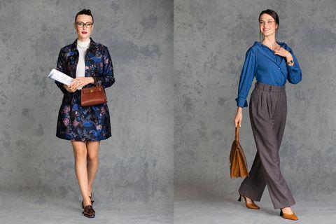 Kleidung im Vorstellungsgespräch: Vorher-Nachher