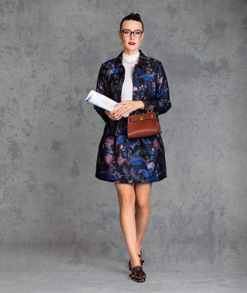 Kleidung im Vorstellungsgespräch: Alena Look 1