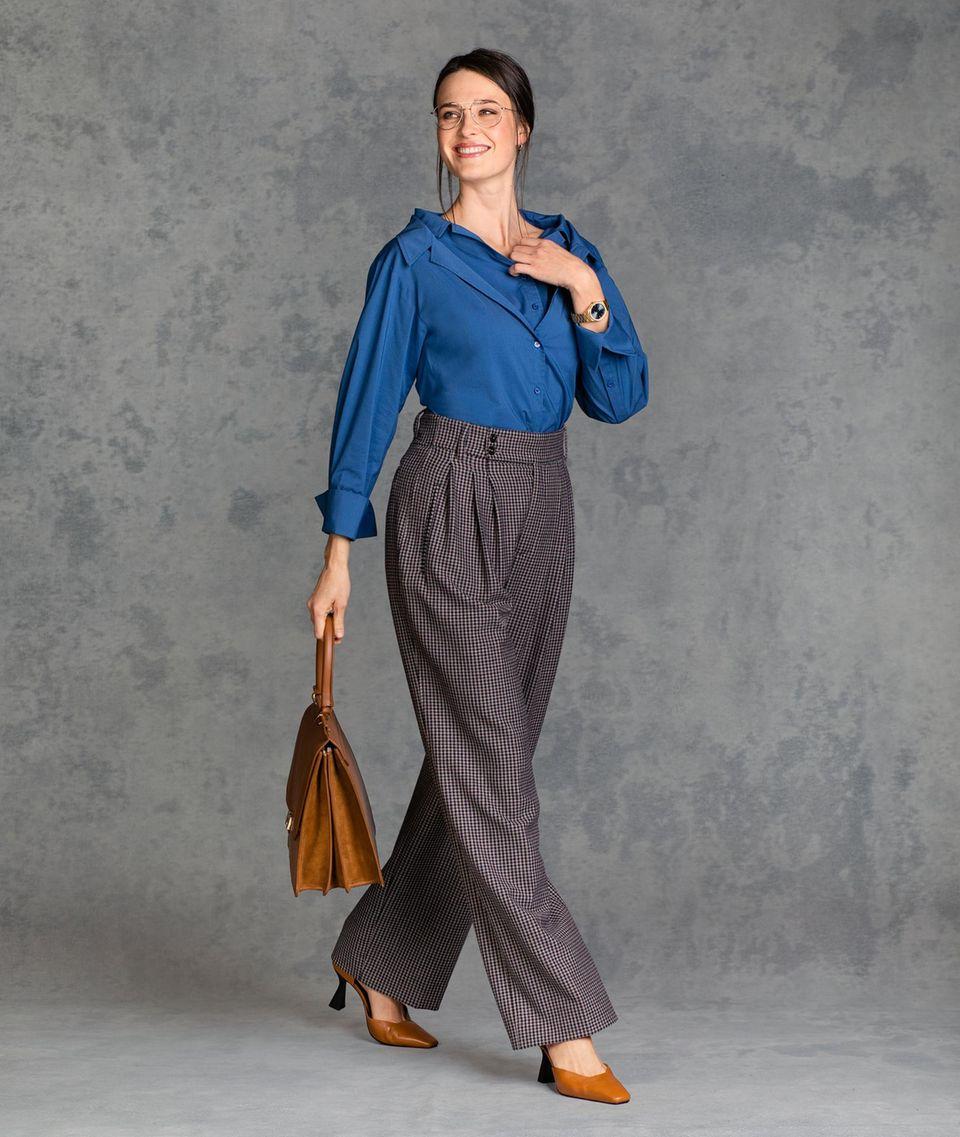Kleidung im Vorstellungsgespräch: Alena Look 2