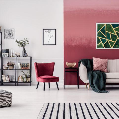 Wohntrend Streifen: Wohnzimmer