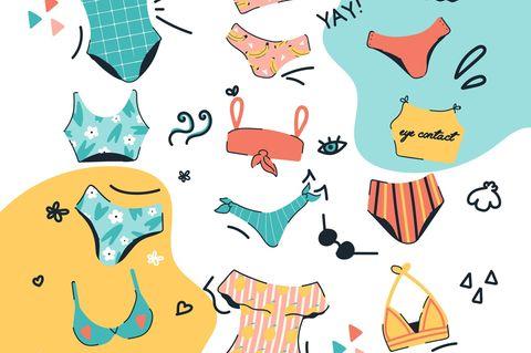 Bademoden-Trends 2019: Diese Bikinis und Badeanzüge setzen unsere Kurven perfekt in Szene