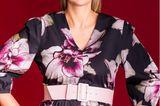 Mode für Schwangere: Mareike im Blumenkleid