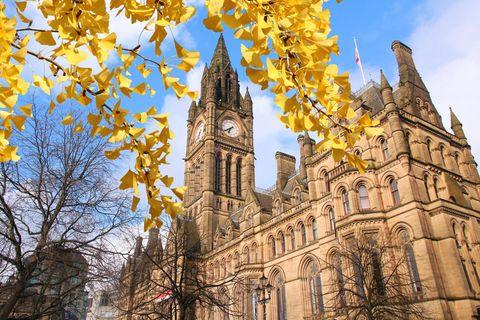 Manchester: Blick auf die Stadt