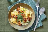 Zitronennudeln mit Thunfisch-Salat