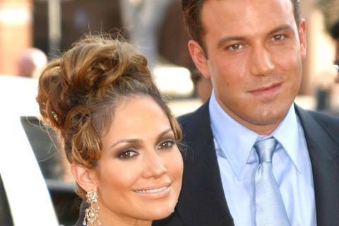 Jennifer Lopez + Ben Affleck: Lassen sie die Bombe bald platzen?: Das Paar gemeinsam auf dem roten Teppich in 2003