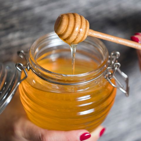 Manuka Honig: Honigglas