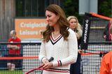 Auch Tennis kann Kate stylisch spielen