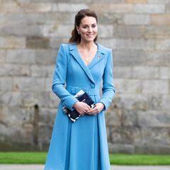 Herzogin Catherine verabschiedet sich aus Schottland