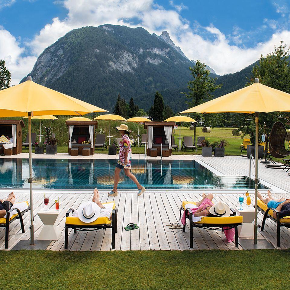Gewinnspiel: Die Quelle Alpensommer - Entspannung gewinnen im Quellenhof Leutasch in Tirol!