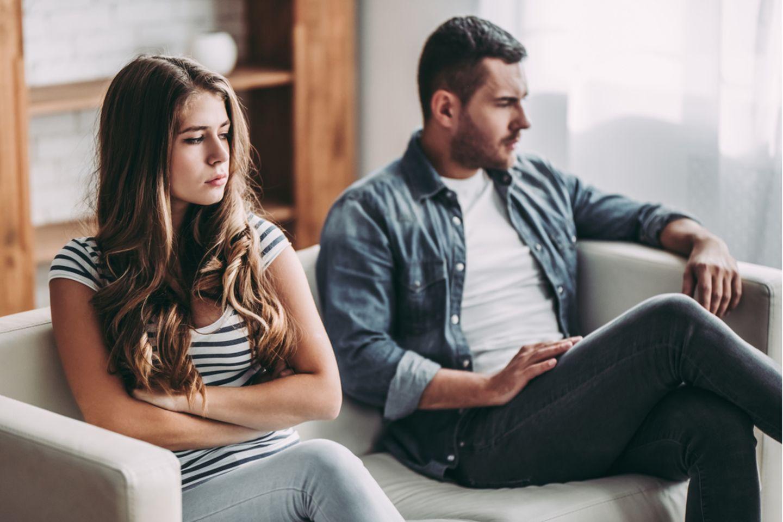 Richtig streiten: Paar streitet sich