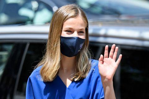 Die stylischen Looks der jungen Royals: Prinzessin Leonor macht blau
