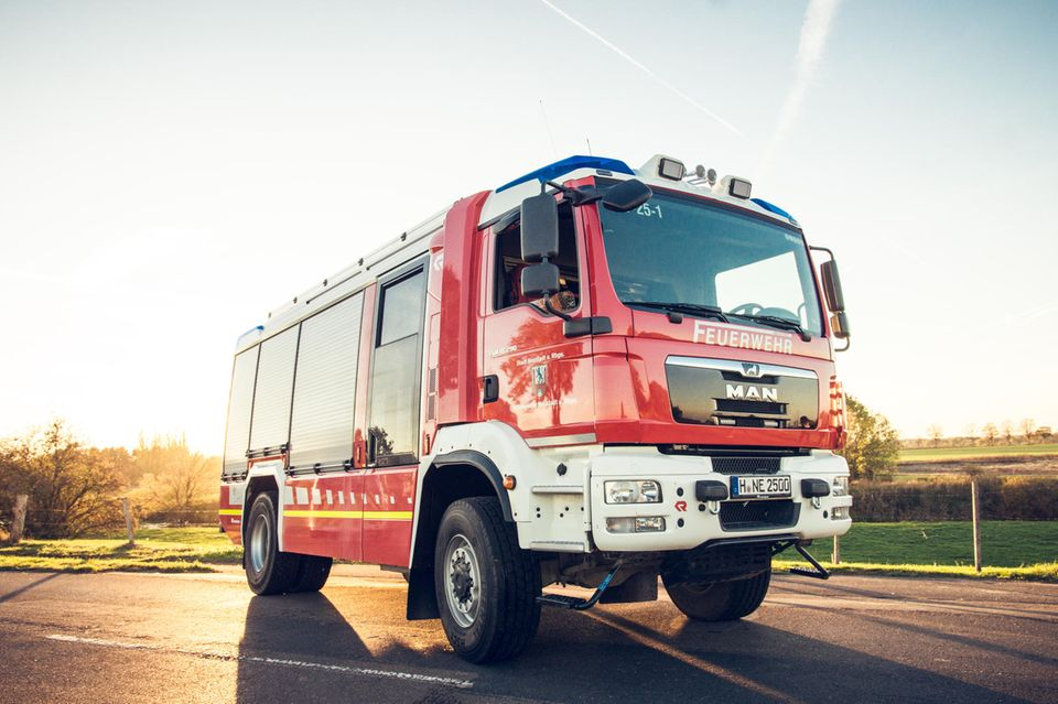Sigmarszell: Feuerwehrauto