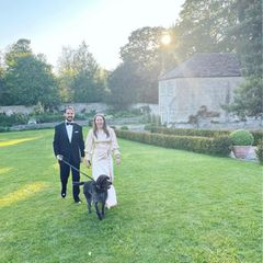 Prinz Philippos von Griechenland hat ein zweites Mal geheiratet. Nachdem er und seine Nina sich im Dezember still und heimlich in der Schweiz das Jawort gaben, folgte jetzt eine zweite Feier in Cambridge, dem Wohnort des Paares.