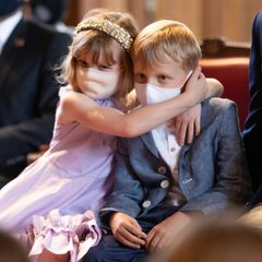 Royale Kinderfotos: Prinzessin Gabriella und Prinz Jacques von Monaco