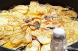 Camping-Küche: Kartoffelgratin vom Grill