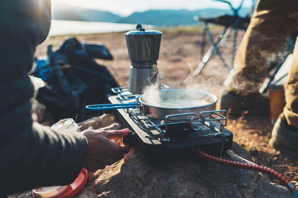 Camping-Küche: Beste Rezepte