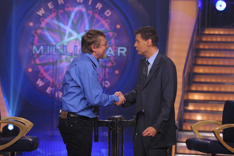 Wer wird Millionär: Günther Jauch mit Gewinner