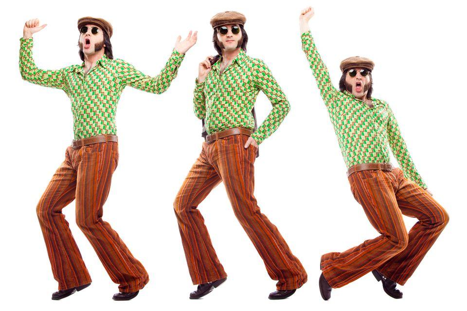 70er Jahre Mode: Mann
