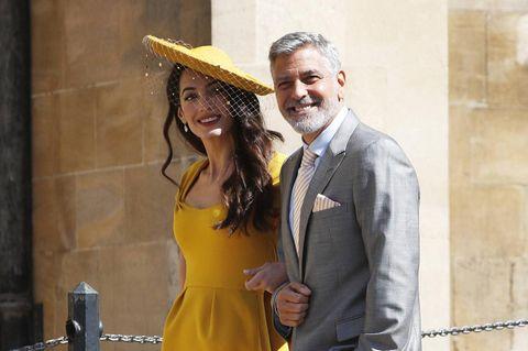 Amal und George Clooney: Die Zwillinge feiern ihren vierten Geburtstag am Comer See: Amal und George Clooney