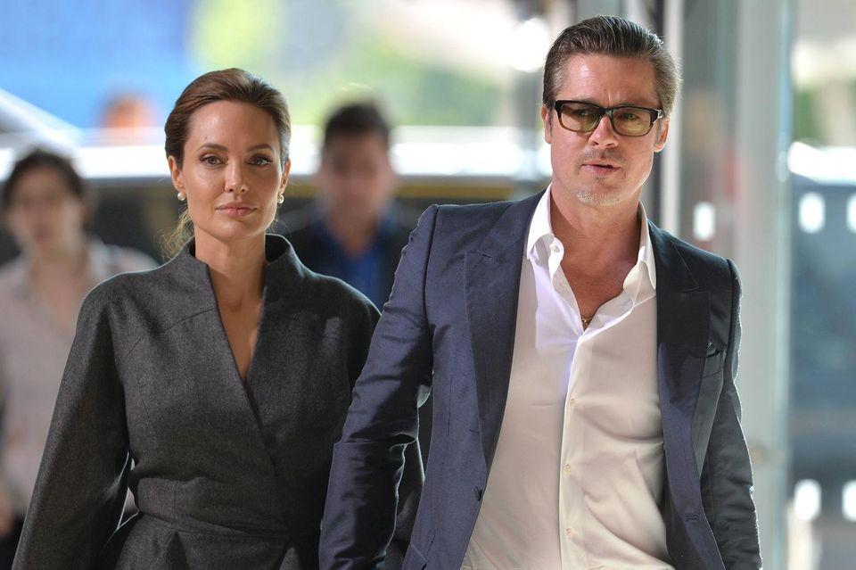 Angelina Jolie und Brad Pitt: Drama um Tochter Shilohs Geburtstagsparty: Angelina Jolie und Brad Pitt