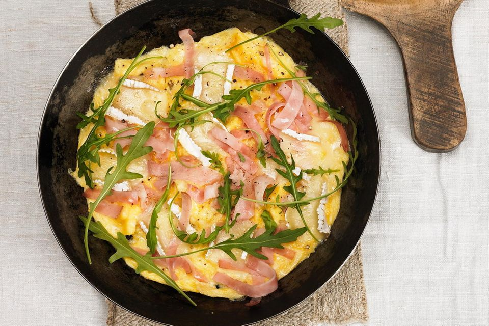 Käse-Schinken-Omelett