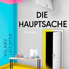 """Buchtipps der Redaktion: Buchcover """"Die Hauptsache"""""""