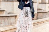 Bralette: Volantkleid mit Bralette