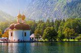 Sommerreiseziele 2021: Bayerische Seen